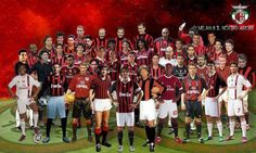 this is one of my favorite pic of Milan. Great team with great stars. ♥ Forza Milan.