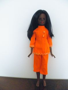 Italocremona Corinne black clone doll