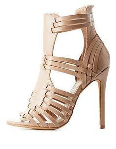 a69dd8e70ea Wild Diva Lounge Chunky Heel Huarache Sandals ( 41) ❤ liked on ...