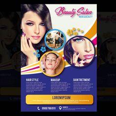 Graphic Design Flyer, Brochure Design, Brochure Template, Flyer Template, Flyer Design, Salon Business, Business Brochure, Business Flyer, Prospectus
