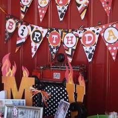 Massimo and Valentino's 1st & 3rd Birthdays - Firetrucks and Dalmatians
