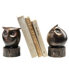 The cutest bookends.