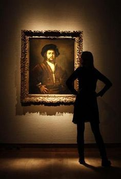Rembrandt's Portrait of a Man Museum Of Fine Arts, Art Museum, Rembrandt Portrait, Maurice Careme, Night At The Museum, Great Works Of Art, Beautiful Collage, Culture Club, Famous Artists