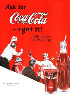 Coca-Cola ad, 1922     I do love an ice cold Coca Cola.