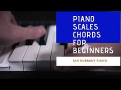 Piano Scales and Chords for Beginners - YouTube E Major, Major Scale, Piano Keys Labeled, Piano Scales, Print Music, Free Sheet Music, Easy Piano, Music Theory, Video Tutorials