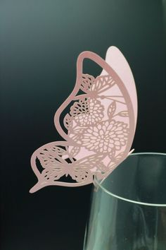 100 Paper Craft Laser cut Beautiful Butterfly от Happy22gether