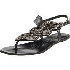 I need these...Naughty Monkey Women's Ascot Thong Sandal