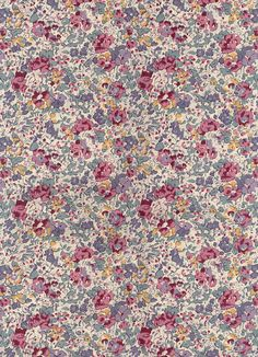 Liberty of London tana lawn fabric Claire Aude 6 x 26 por MissElany