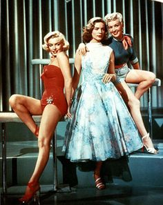 How to Marry a Millionaire An #education  Marilyn Monroe, Lauren Bacall, Betty Grable