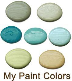 Home idea - I love this colour combo!