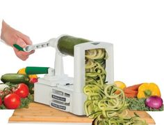 "The Veggetti, to turn vegetables into a healthier pasta alternative. | 27 ""As Seen On TV"" Products That Actually Work"