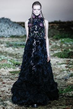 """Alexander McQueen Inspiration: """"Wild beauty"""", a childlike proportion, the world through an innocent child's eyes"""