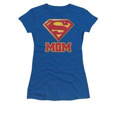 Super Mom Juniors Womens T-Shirt