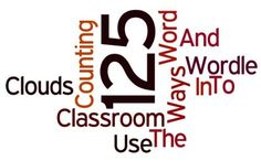 Word Clouds: 125 Ways… And Counting… To Use Wordle In The Classroom