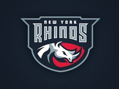 Refreshing your creativity can pay off when you're about to make a new logo. Here are some great sports logo designs that I have compiled so you can draw some inspiration from them. Clever Logo, Cool Logo, Pub Logo, Rhino Logo, American Logo, Logo Branding, Branding Design, Sports Team Logos, Shops