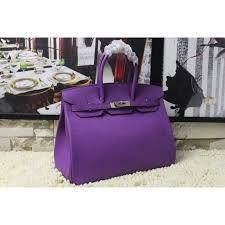 Risultati immagini per borse hermes viola