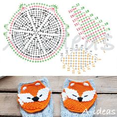 FREE PATTERN Crochet fox