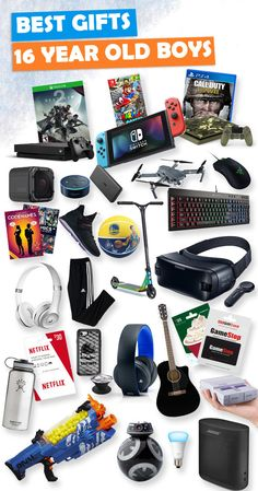 Tons Of Great Gift Ideas For 16 Year Old Boys