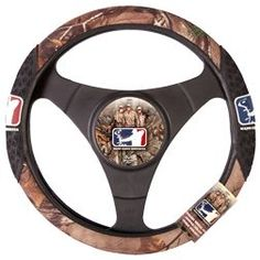 SIGNATURE PRODUCTS GROUP Major League Bowhunter Steering Wheel Cover Realtree Xtra, EA