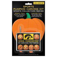 Iowa Hawkeyes Pumpkin Carving Kit