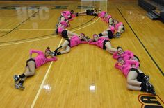 RCC Volleyball promotes Breast cancer Awareness Month  #digpink #sideoutfoundation