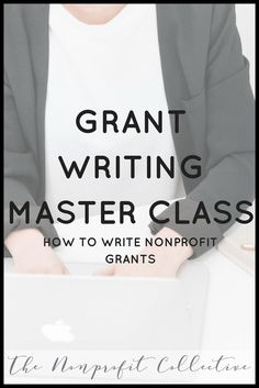 learn how to write grants