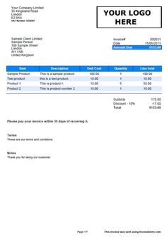 use invoice templates for your new dog care business #dogcare, Invoice templates