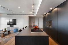 קוביית מזל: עיצוב דירה בפרויקט W PRIME בתל אביב | בניין ודיור