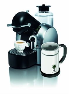 Nespresso D290 Concept Automatic Coffee-and-Espresso Machine with Aeroccino Milk Frother, Satin Chrome $449.00