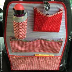 Autoutensilo für Kinder mit Flaschenhalter / car organizer…