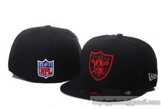 615e323454c76 Oakland Raiders New Era NFL Official On Field 59FIFTY Cap Black Black 3   snapbacks