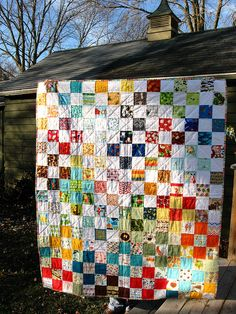 I spy quilt by Quirky Granola Girl