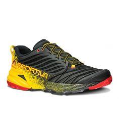 Nueva zapatilla Akasha de la marca La Sportiva para larga distancia, con más amortiguación y comodidad. http://www.shedmarks.es/zapatillas-trail-running-hombre/3355-zapatillas-la-sportiva-akasha.html