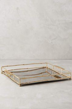 Brass Bamboo Tray - anthropologie.com