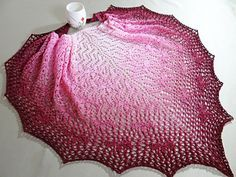 Cherry Blossons on the Water Shawl by Aino Haikala free on Ravelry