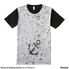 Nautical Sinking Anchor All-Over Print T-shirt