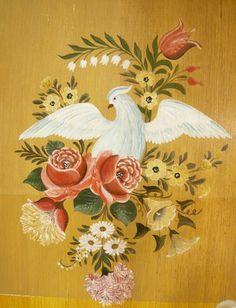 The art of painted decoration - painted furniture - MEMORANDUM