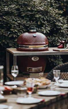 Grills und Feuerstellen in Premiumqualität - Löchte GmbH in Münster Outdoor Grill, Grill Design, Outdoor Living, Grilling, Bbq, Table Decorations, Home Decor, Fire Pits, Barbecue