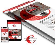 Hvac Plumbing Website Design Website Design Design Solutions