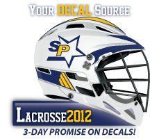 c3b6e815 Lacrosse decal kit for our own helmet at SchoolPride® Lacrosse, Football  Helmets, Decal