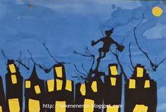 Tekenen en zo: Piet en Sint op het dak