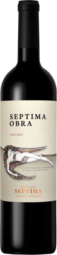 """Septima Obra"" Malbec 2011 / 2012 / 2013 - Bodega Septima, Luján de Cuyo, Mendoza----------- Terroir: Agrelo -------------------- Crianza: 10 meses en barricas de roble francés y americano"