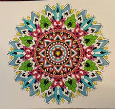ColorIt Mandalas to Color Volume 1 Colorist: Trish Headrick #adultcoloring #coloringforadults #mandalas #mandalacoloringpages