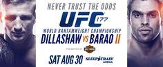Video; Countdown to UFC 177: Dillashaw vs Barao & Feguson vs Castillo | TalkingBrawlsMMA.com