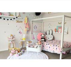 Little girls room. Girl room.  Girly.