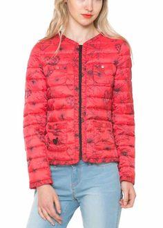 61E29H6_3000 Desigual Red Coat Susi