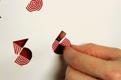 the stationery place: folding typography advent calendar