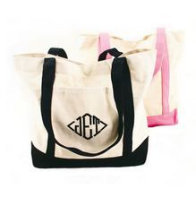Personalized Multiple Sizes YouCustomizeIt Retro Chevron Monogram Duffel Bag