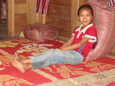 Radiant Lao Girl at the Home Where We Stayed, Homestay, Luang Namtha, Laos home stay with #LuxuryTravelVietnam