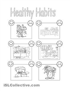 Printables Healthy Eating For Kids Worksheets pictures of fruits and vegetables children on pinterest our pe worksheets cover fitness nutrition sports rules history can be used for a review or assessment by coaches trai